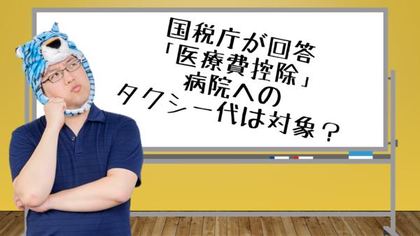 医療 申告 費 控除 国税庁 確定