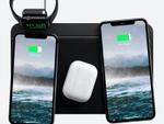 どこに置いても充電できるワイヤレス充電器にApple Watchマウント搭載モデル登場