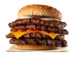 バガキン、総カロリー1483kcalの激辛ガーリックな肉の壁!挑戦者求む