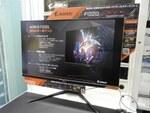 GIGABYTEの31.5型WQHDゲーミング液晶「FI32Q」をツクモで先行展示中