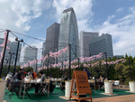 BBQでリフレッシュ! 新宿の解放空間「京王BBQガーデン」で肉を食おう