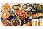 新宿西口に人気店の餃子12種が勢ぞろい! ドイツビールと一緒にいかが?