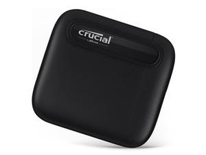 大容量4TBモデルも登場、マイクロンの高速ポータブルSSD「Crucial X6」新モデル