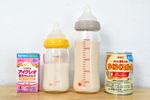 便利な液体ミルク「アイクレオ」と「ほほえみ」結構違います