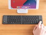 iPadでカーソル操作やクリックができるタッチパッド付きBluetoothキーボード