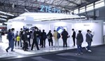 ZTE、MWC上海で最新の5G製品やディスプレー内蔵カメラを展示