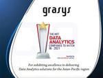 grasys、2021年のアジア太平洋地域の急成長データ分析企業10社に選出