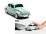 カラフルボディの車型! Volkswagenクラシックビートル無線マウス