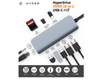 Macbookを最大3画面まで拡張!「HyperDrive VIPER 10-in-2 USB-C ハブ」
