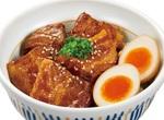 【本日発売】なか卯、ほろとろの「豚角煮丼」