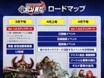 世紀末アクションRPG『真・北斗無双』3月から4月にかけて行なうアップデートのロードマップを公開!