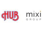 mixiと英国風パブ「HUB」が業務提携