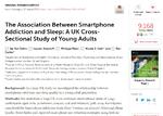 スマートフォン依存症、英国では若者の3人に1人?
