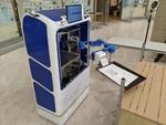 PCR検査の実証における非対面・非接触でのロボット搬送を実施