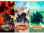 「ゴジラ」のスマホゲームが2021年に3タイトル連続リリース!