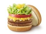 モス注目の新バーガー「クリームチーズベジ」お肉2倍の「ダブル」も