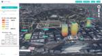 大丸有エリアの1分単位の階層別混雑度を公開、3D都市モデルに活用