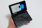 GPD Micro PC 実機レビュー  = 6インチ400グラム台の超小型ノートPCなのだっ!!