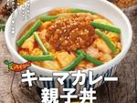 なか卯に「キーマカレー親子丼」が登場するよ!パワーワードっぽい新メニュー