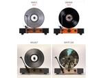 Jasmine Audio、スピーカー内蔵でBluetooth対応のバーティカルレコードプレーヤー新モデル