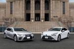 トヨタ、ハンドル操作が不要になる運転支援搭載の「LS」「MIRAI」