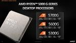 AMD、Zen3ベースのAPU「Ryzen 5000G」シリーズの情報を公開