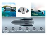 水上・水中撮影が可能、魚群探知機や撒き餌機能で釣りにも応用できる水上ドローン「PowerDolphin」