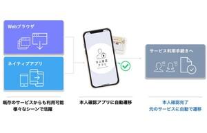 凸版印刷、「スマホ×マイナンバーカード」で非対面で簡単・スピーディーに本人確認ができるアプリを開発