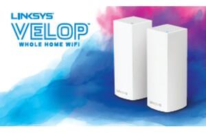 Connected Design、2階建て以上の一軒家でも高速通信を実現するメッシュWi-Fiルーター「Linksys VELOP」を発売