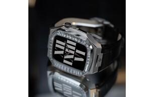 「ゴールデンコンセプト」、ベゼルにバケットカットクリスタルをセットした豪華なApple Watchケースを発売