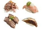 スシローのGWは「110円ネタ」と「肉」!新シリーズ麹熟成すしもスタート
