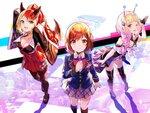 3人のヒロインたちの魅力を凝縮!スマホゲーム『ユージェネ』がオープニングムービーを公開!!
