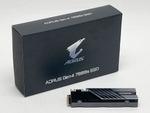 AORUS Gen4 7000s SSD標準装備のヒートシンクは冷えるのか検証してみた