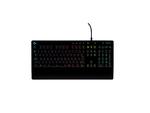 ロジクール、メンブレンキー搭載の有線ゲーミングキーボード発売