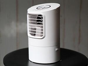 -7度の涼しい風が吹きつける! 冷風扇・卓上モデル「ヒヤミストLight」