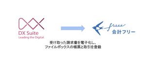 freeeとAI-OCR「DX Suite」がAPI連携、請求書を取引データに自動で登録