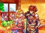 ケムコ、PS4/Xbox One/Steam向けRPG『彩色のカルテット』の配信をスタート!