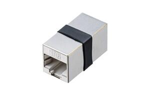 サンワサプライ、2本のLANケーブルを中継し1本の長いケーブルとして使用できるRJ-45中継アダプター発売