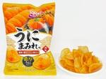 山芳の「ポテトチップス うにまみれ味」がうに原料マシでパワーアップ!