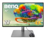 ベンキュー、VESA Display HDR400対応のプロ向け27型4Kディスプレー「PD2725U」