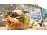 ピクニックの主役はコレで決まり! ボリューム満点のハンバーガーなど3品、横浜高島屋「SHIGERU KITCHEN」で新発売