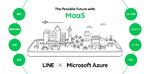 LINEがMaaS事業へ本格参入、Azureのパートナー4社と共同プロジェクト