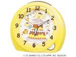 セイコー、「ポムポムプリン」25周年を記念した目ざまし時計を3000個限定で発売