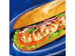 ドトールから「野菜をもっと食べたい!」声に応えた「北海道産サーモンとエビのミラノサンド」