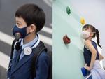フィリップスの排気電動ファン搭載N95フィルターマスクにキッズモデルが登場