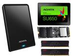 Amazonにて、ADATA製ポータブルHDDやSSDとメモリー製品がセール販売中