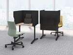 コクヨ、オフィスに設置できる1人用自立型のテレワークブースを発売