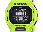 スマホ連携G-SHOCK、ワークアウトで着けやすい角型「GBD-200」