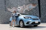 純情のアフィリア・寺坂ユミ、ペーパードライバー講習を終え、ついに一般道をドライブ!