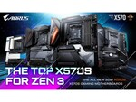 GIGABYTE、チップセット・ファンレス放熱設計のマザーボード「AMD X570S」シリーズを発表